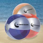promotional luster tone beach ball