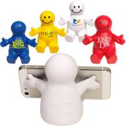promotional happy dude mobile device holder