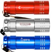 promotional pocket 9 led torch