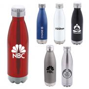 promotional 17 oz. camper double wall stainless steel bottle