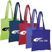 promotional budget tote bag (colored)