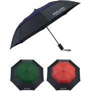 promotional 42 color pop vented windproof umbrella