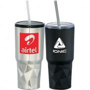 promotional 20 oz. geo travel insulated tumbler