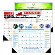 promotional multi-colored desk pad