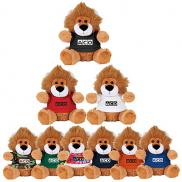 promotional 6 plush lion with shirt