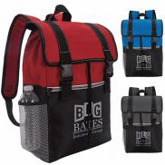 promotional snap down rucksack backpack