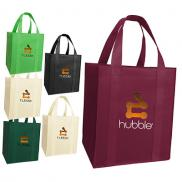 promotional mucho grande grocery tote - full-color