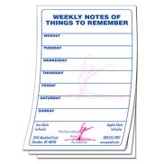 promotional note pads (5 1/2 x 8 1/2)