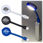promotional usb flex light 4 port usb hub