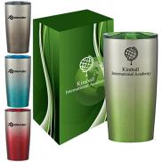 promotional 20 oz. himalayan gradient tumbler with custom box