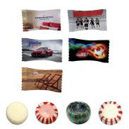 promotional individually wrapped mints - full color