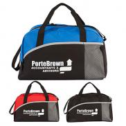 promotional structured duffle bag