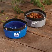 promotional foldable travel dog bowl
