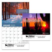 promotional inspiration wall calendar - stapled