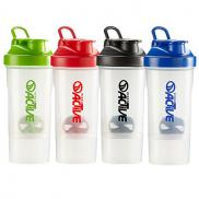 promotional 16 oz. shake-it compartment bottle
