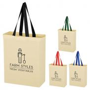 promotional natural cotton canvas bag