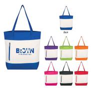 promotional living color tote bag