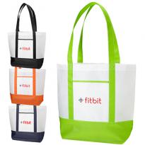 26643 - Harbor Boat Tote Bag - Full Color