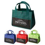 promotional mini snap lunch tote