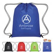 promotional insulated drawstring cooler bag