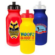 promotional 20 oz. value cycle bottle - full color