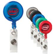 promotional colorful retractable badge holder