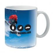 promotional 11 oz. full color mug