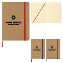 "26889 - 5"" x 7"" Eco-Inspired Strap Notebook"