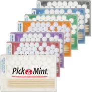 promotional pick & mint