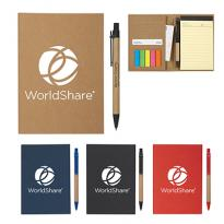 26901 - MeetingMate Notebook with Pen & Sticky Flags