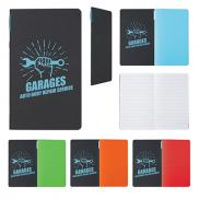 promotional 5 x 8 1/2 script notebook