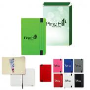 promotional charlotte journal notebook with custom box