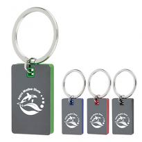 26966 - Color Block Mirrored Key Tag