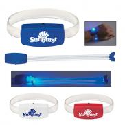 promotional glow light wristband