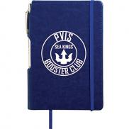 promotional the viola notebook with metal pen