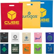 promotional large freedom heat seal non-woven tote