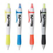 promotional dual-tip pen-highlighter