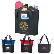 27026 - Heavy Duty Zippered Business Tote