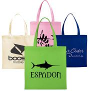 promotional small zeus non-woven convention tote