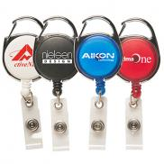 promotional carabiner secure-a-badge™