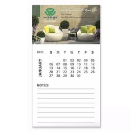 Bic® Business Card Magnet with Calendar