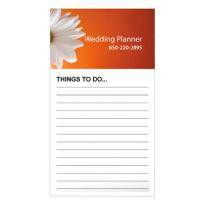 9918 - Bic® Business Card Magnet with Notepad