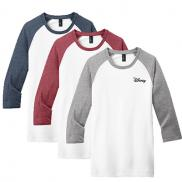 promotional district ® very important tee ® 3/4-sleeve raglan