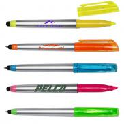 promotional highlighter pen with stylus
