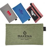 promotional strand zip accessory pouch