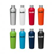 promotional 20.9 oz. h2go manhattan vacuum stainless steel bottle