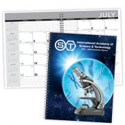 promotional academic year desk planner with custom cover