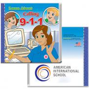 promotional calling 9-1-1 storybook