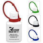 promotional 1.0 oz sunscreen with colorful silicone leash