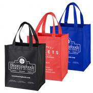 promotional full view junior grocery shopping tote